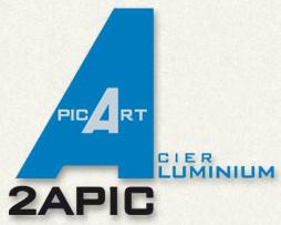 Logo de la société 2APIC et lien vers son site web