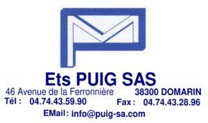 Logo de la société PUIG et lien vers son site web