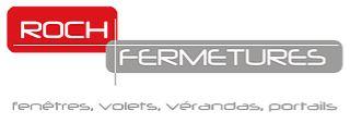 Logo de la société ROCH FERMETURES et lien vers son site web
